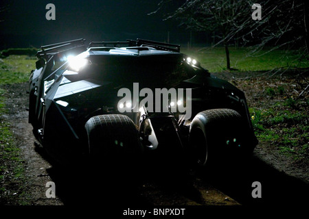 Per IMPIEGHI PESANTI BATMOBILE BATMAN BEGINS : BATMAN 5 (2005) Foto Stock