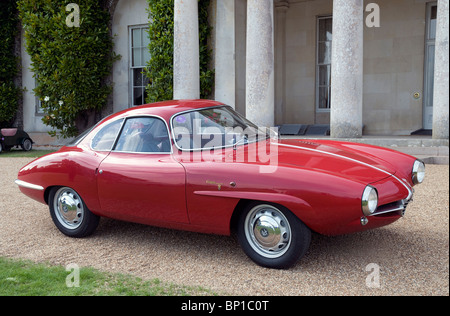 1960 Alfa Romeo Giulietta sprint Zagato da Bertone Foto Stock