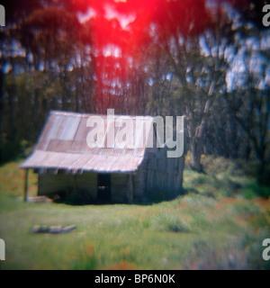 Una baracca Foto Stock