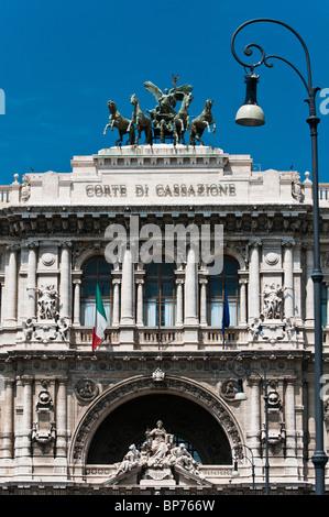 La Corte Suprema di Cassazione (Hall di giustizia), Roma, Italia Foto Stock