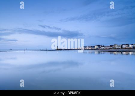 La cittadina sul mare di Margate, Kent, Inghilterra, Gran Bretagna, Europa Foto Stock