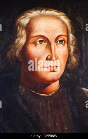 Cristoforo Colombo 1451 - 1506. Nati in Italia explorer. Foto Stock