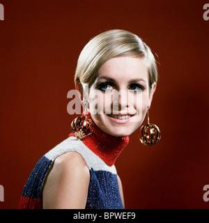 TWIGGY MODELLO & attrice (1968) Foto Stock
