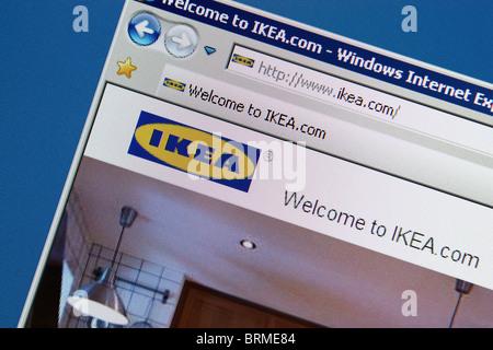 Arredamento Ikea store Foto Stock