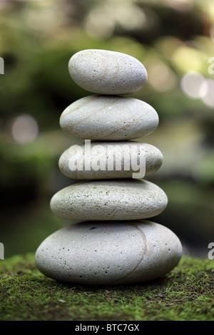 Equilibrio e armonia nella natura Foto Stock