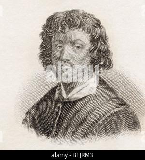 Claude Lorrain, aka Claude o Claude Gellée, c. Da 1600 a 1682. Artista francese di epoca barocca. Foto Stock