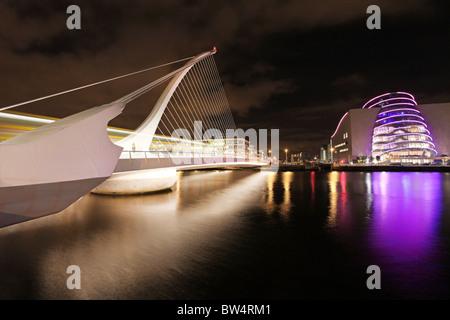 Samuel Beckett Bridge, Dublin .