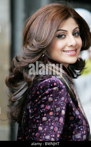 Shilpa Shetty, Indian film attrice, famoso star di film di Bollywood, al Commonwealth giorno di servizio presso Foto Stock