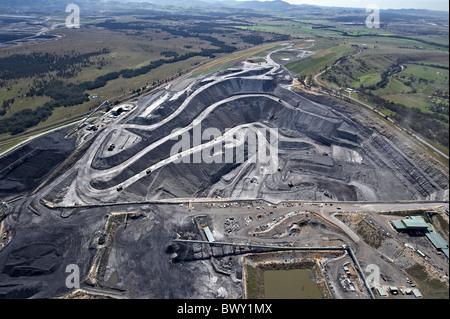 Aprire tagliare il mio Hunter Valley NSW Australia Foto Stock