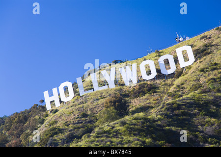 Hollywood Sign, Los Angeles, California, Stati Uniti d'America, America del Nord Foto Stock