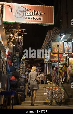 Cina Hong Kong il Mercato Stanley Foto Stock