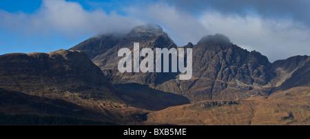 Blaven montagna, Isola di Skye in Scozia Foto Stock
