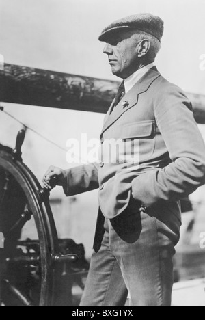 Polare Norvegese explorer Roald Amundsen (1872 - 1928) - La prima persona a raggiungere il geografico del Polo Sud Foto Stock