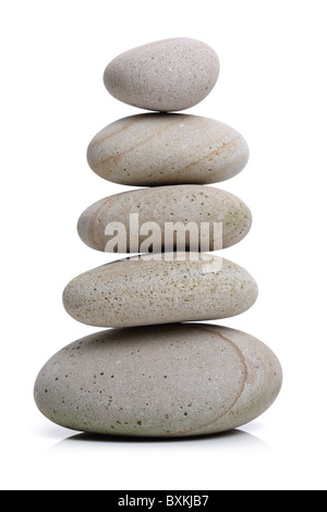 Equilibrio di pietra Foto Stock