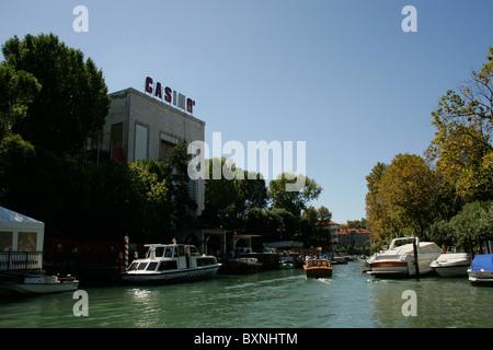 Una vista generale del Lido di Venezia