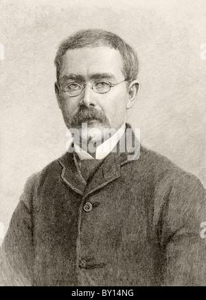 Rudyard Kipling, 1865 a 1936. Autore britannico. Foto Stock