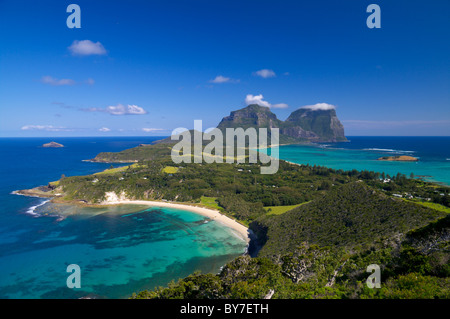 Vista su Isola di Lord Howe Foto Stock