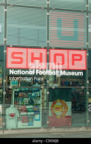 440b0830db Museo Nazionale del Calcio Shop,Urbis costruzione,Manchester.Il Museo  Nazionale del calcio