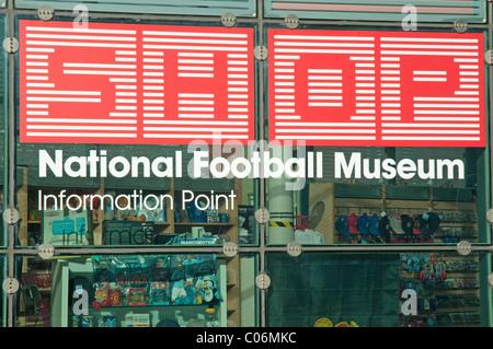 2ed62385ee ... Museo Nazionale del Calcio Shop,Urbis costruzione,Manchester.Il Museo  Nazionale del calcio