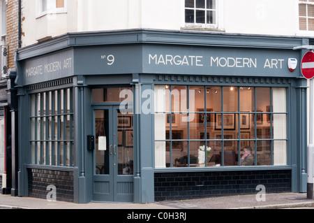 Margate galleria d'Arte Moderna nella città vecchia. Foto Stock
