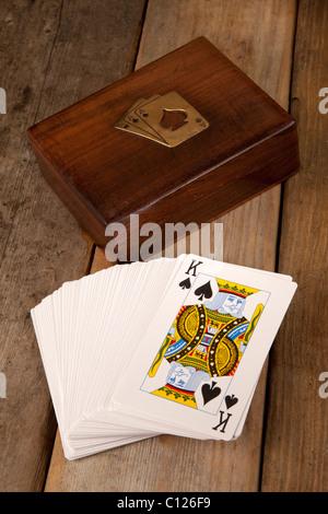 Carte da gioco Foto Stock