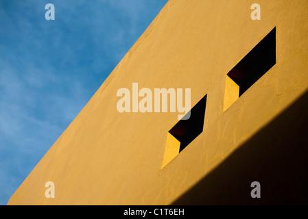 Facciata di edificio, ritagliato Foto Stock