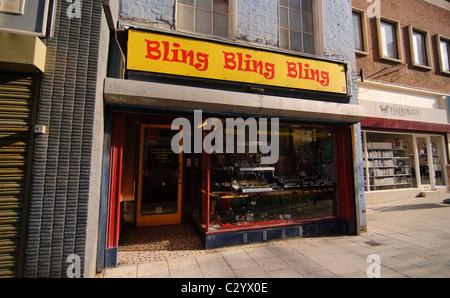 Una gioielleria in Margate Foto Stock