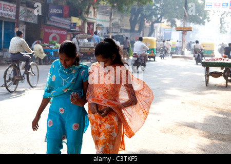 Varanasi, Uttar Pradesh, India, Asia Foto Stock