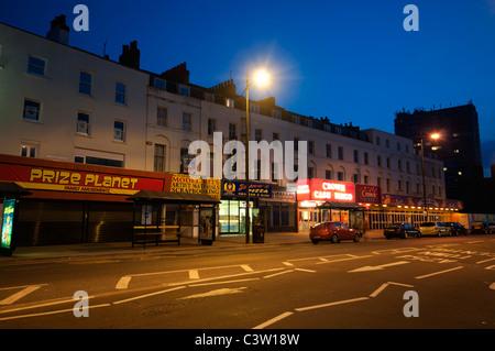 Margate isola di Thanet Kent England Regno Unito città balneare architettura vittoriana Foto Stock