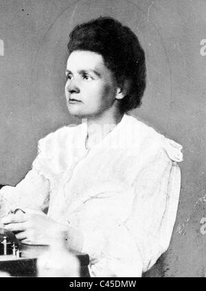 Marie Curie, 1906 Foto Stock