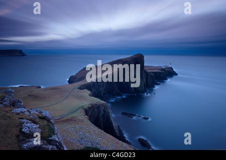 Neist Point, Isola di Skye in Scozia Foto Stock