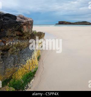 Oldshoremore beach, Sutherland, Highland, Scotland, Regno Unito Foto Stock
