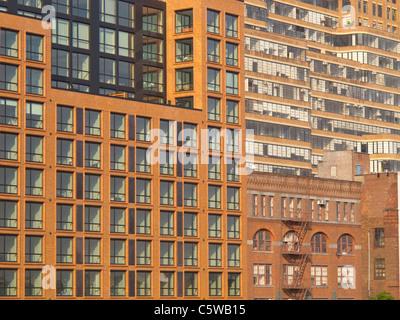 Edificio abstracts Foto Stock