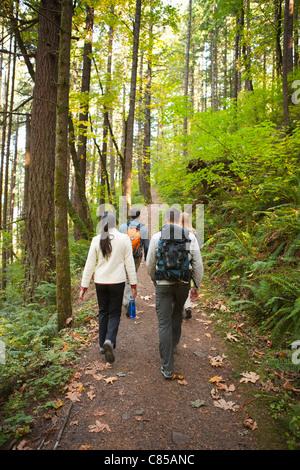 Amici escursionismo, Hood River, Oregon, Stati Uniti d'America