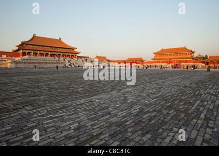 Cina, Pechino, Palace Museum o la Città Proibita Foto Stock