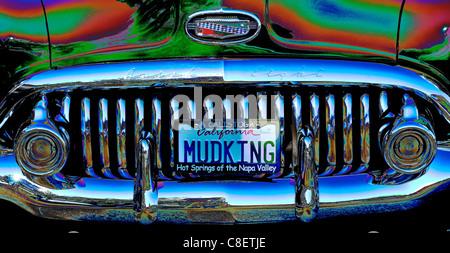 Classic Car, alienato, Calistoga, Napa Valley, California, Stati Uniti d'America, Stati Uniti, America,