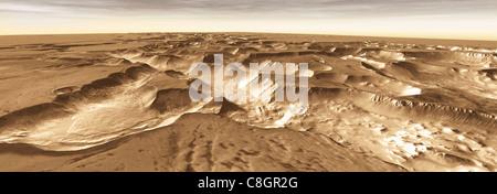 La Mars Odyssey tutte le stelle: Noctis Vista Foto Stock