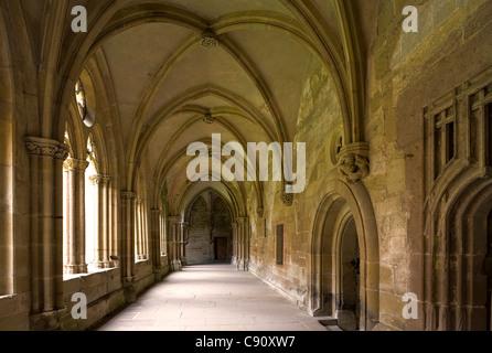 Al chiostro del monastero di Maulbronn, monastero cistercense, Baden-Wuerttemberg, Germania, Europa