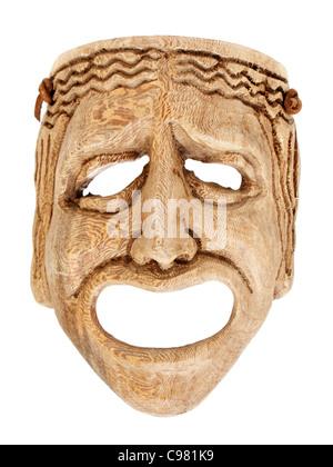 Maschera viso spaventoso