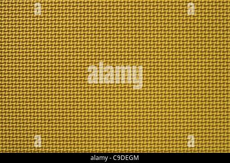 Close up dettaglio delle texture giallo Tappeto gioco Foto Stock