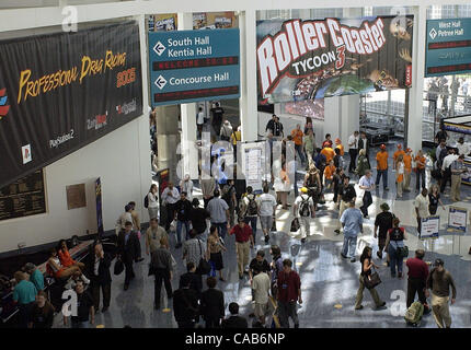 Maggio 12, 2004; Los Angeles, CA, Stati Uniti d'America; all'interno di E3 (Electronic Entertainment Expo. Foto Stock