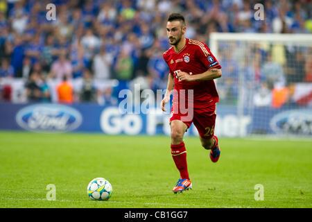 Diego Contento (Bayern), 19 maggio 2012 - Calcio : UEFA Champions League 2011-2012 partita finale tra il Bayern Foto Stock