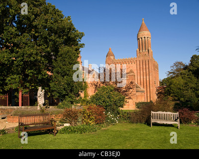 Quarr Abbey Isle of Wight England Regno Unito Foto Stock