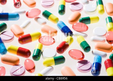 Pillole. Foto Stock