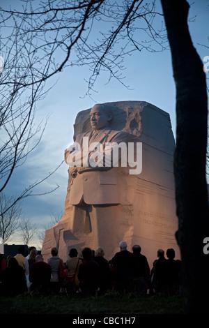 Washington, DC - il Martin Luther King Jr. Memorial.
