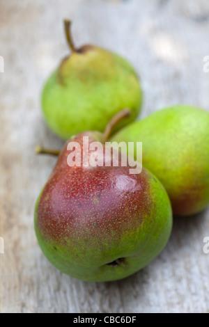 Close up di pere da tavola Foto Stock