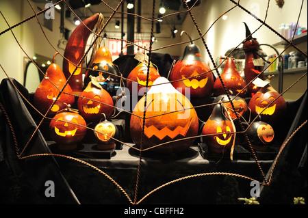 Halloween Manhattan New York paesaggio paesaggio Travel NY USA Foto Stock