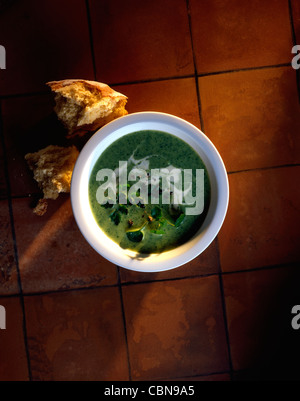 Zuppa di crescione Foto Stock