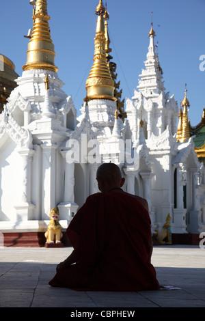 Yangoon, Myanmar Shwedagon, MYANMAR Birmania Foto Stock