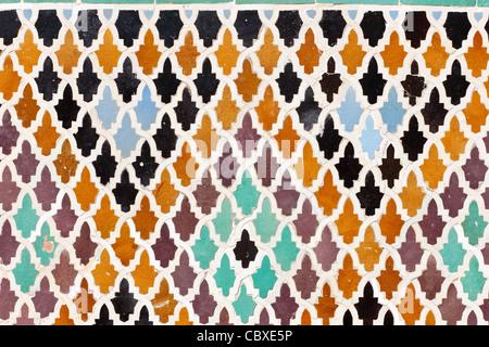 Mosaico arabo a marrakech marocco foto & immagine stock: 108855797